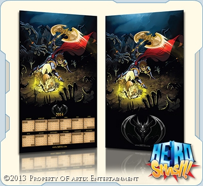 2014 Artix Entertainment Poster Calendar